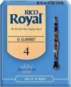 Plátek Rico Royal Es klarinet - tvrdost 4