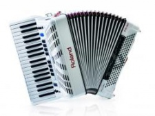 Roland FR 3X white  - digitální akordeon