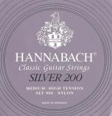 Hannabach 900 Silver 200 - nylonové struny pro klasickou kytaru (medium/high tension)