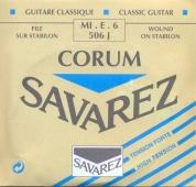 Savarez struna E6 506 J Corum - nylonová struna pro klasickou kytaru (high tension)