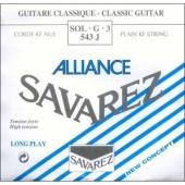 Savarez struna G 543 J Alliance - nylonová struna pro klasickou kytaru (high tension)