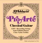 D'Addario EJ 51 Pro Arté - nylonové struny pro klasickou kytaru (recording strings)