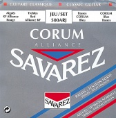 Savarez 500 ARJ Alliance Corum - nylonové struny pro klasickou kytaru  (trebles: normal tension; basses: high tension)