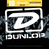 Dunlop DAP 1048 PhBr - kovové struny pro akustickou kytaru (extra light) 10/48