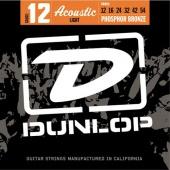 Dunlop DAP 1066 PhBr - kovové struny pro akustickou kytaru (light) 12/54
