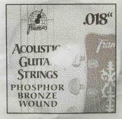 "Framus 018"" - kovová struna pro akustickou kytaru"