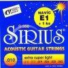 Gor Sirius S 350 sada - kovové struny pro akustickou kytaru (extra super light) 10/43