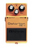Boss DS 1 - kytarový efekt distortion