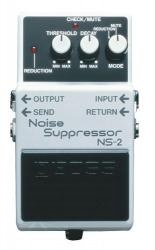 Boss NS 2 - kytarový efekt eliminator šumů (Noise Suppressor)