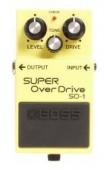 Boss SD 1 - kytarový efekt overdrive