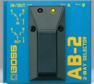 Boss AB 2 - dvoupolohový přepínač
