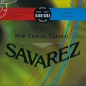 Savarez 540 CRJ New Cristal Classic - nylonové struny pro klasickou kytaru (trebles: normal tension; basses: high tension)