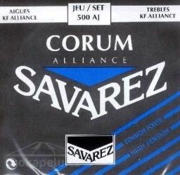 Savarez 500 AJ Alliance Corum - nylonové struny pro klasickou kytaru (high tension)
