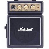 Marshall MS 2 - tranzistorové kytarové mikrokombo