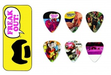 Dunlop Frank Zappa Yellow - sada trsátek