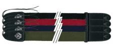 Gewa Fire & Stone Nylon Edition 530820 - kytarový popruh černý