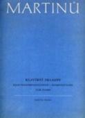 Klavírní skladby - Martinů Bohuslav