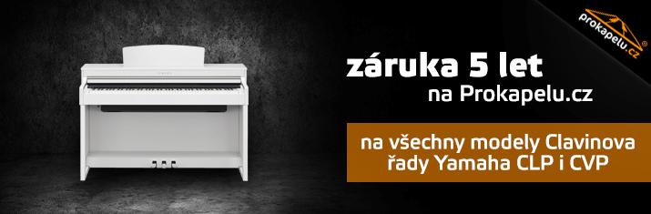 Záruka 5 let na prokapelu.cz