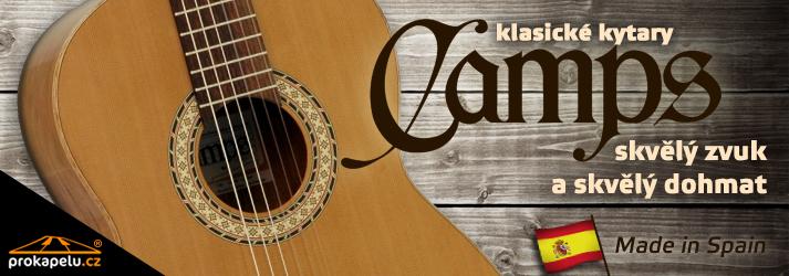 Klasické kytary Camps