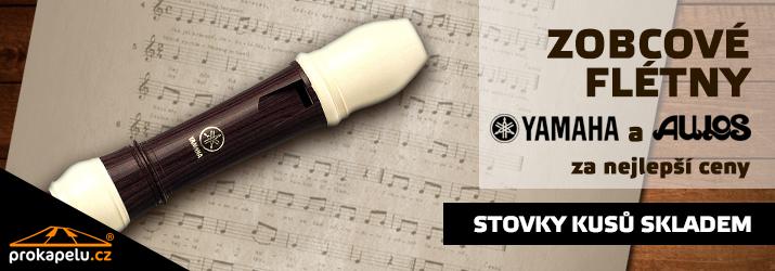 Zobcové flétny Yamaha + Aulos za nejlepší ceny