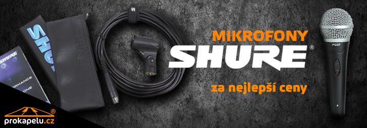 Mikrofony Shure za nejlepší ceny
