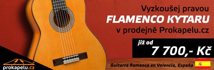 Čerstvá várka flamenco kytar ze španělské Valencie - přijď vyzkoušet do prodejny Prokapelu.cz