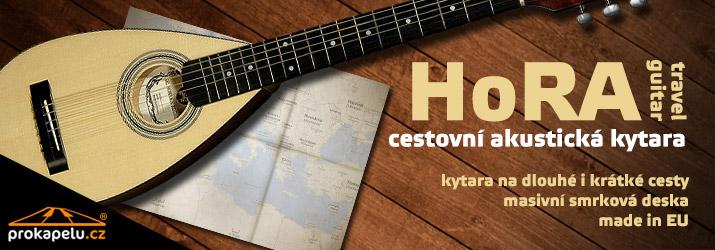 HoRA Travel guitar - cestovní akustická kytara