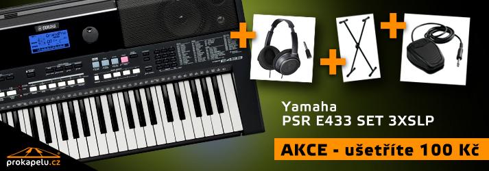 Yamaha PSR E433 set
